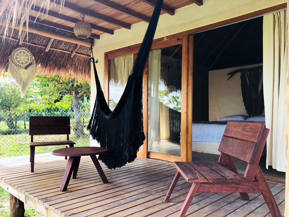 Bungalow a pie de laguna Casa Bakal