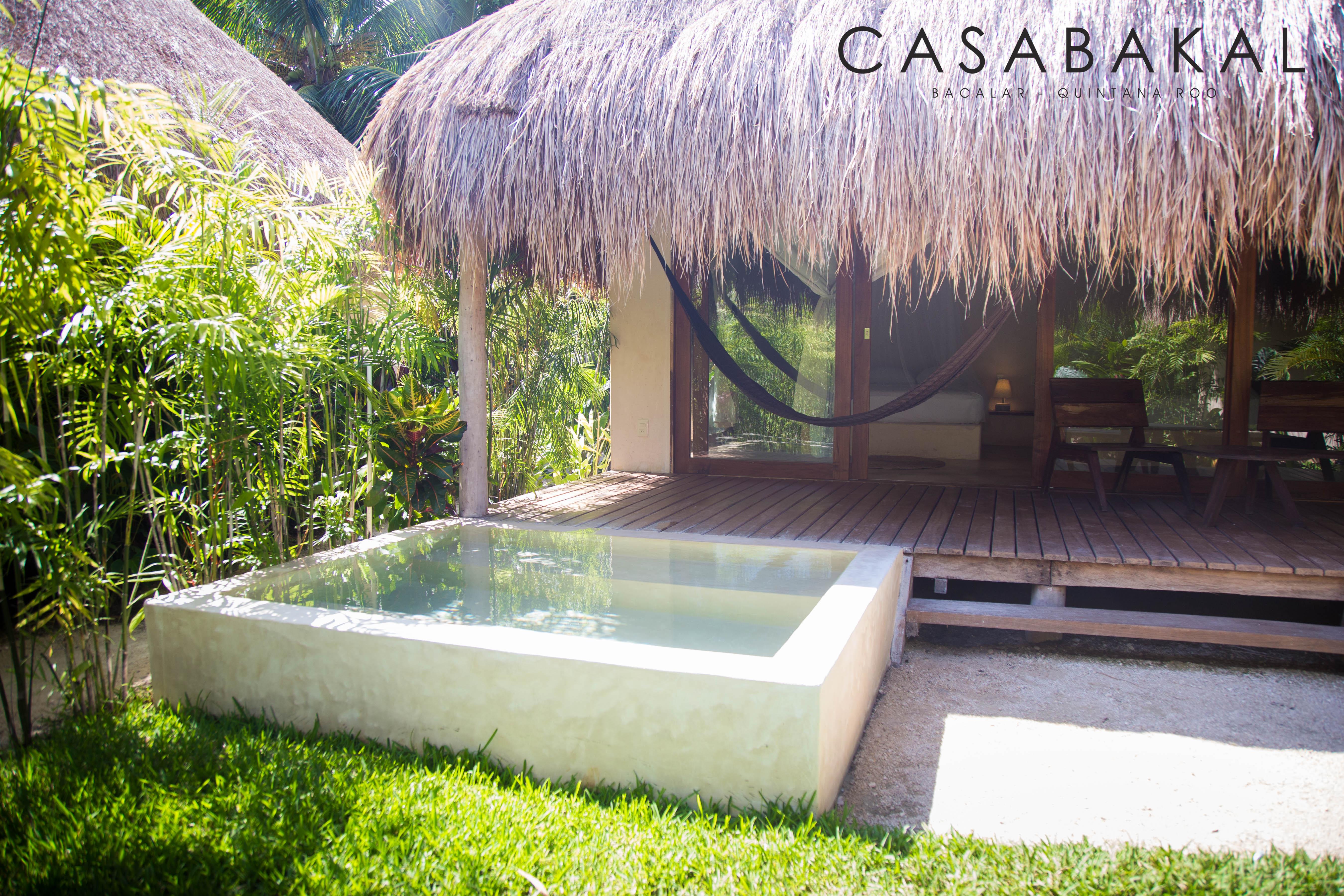 Bungalow vista a jardin CasaBakal