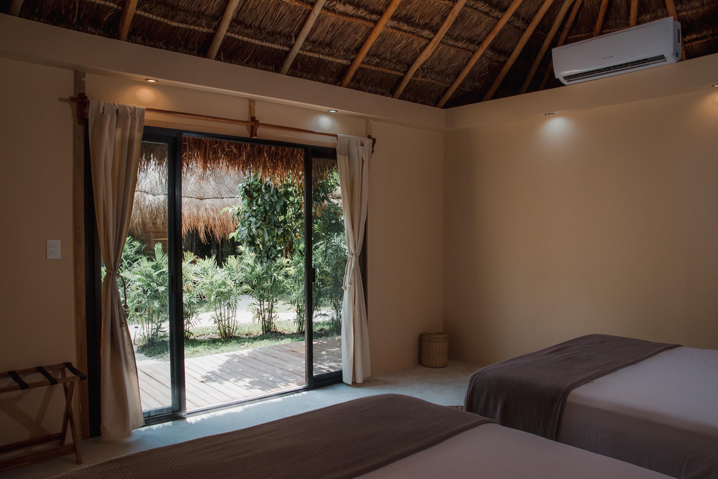 Cabaña con vista al jardin Casa Bakal